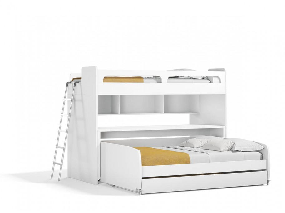 Bel Mondo Twin Over Full/Full XL Bunk Bed Set
