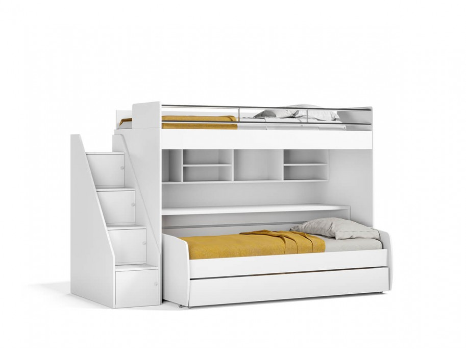 Eco Bel Mondo Twin Over Twin XL Bunk Bed Set