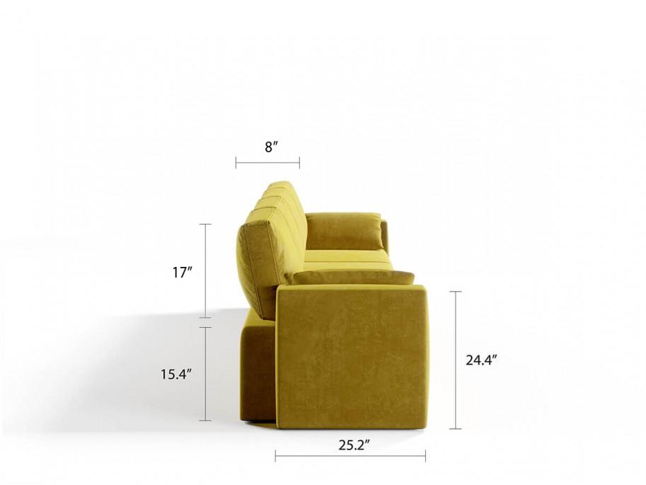 Royal Vertical Queen 4 Seat Sofa
